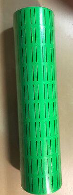 10 Rolls 5000 Tags Green Labels For Motex Mx-5500 L5500 Mx989 Price Gun 30