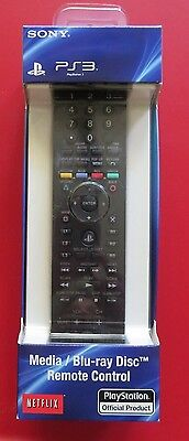 Media / Blu-Ray Disc Remote Control for PlayStation 3 PS3 System