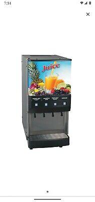 Commercial Juice Beverage Dispenser Cold Drink 4 Bunn Floridas Natural Jdf-4s