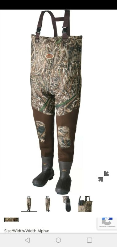 Caddis Waterfowl Wading Systems Max-5 Neoprene Bootfoot Waders Size. 11