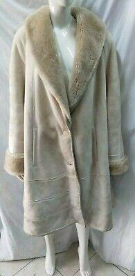 montone shearling cappotto donna ARTICO stupendo taglia 44