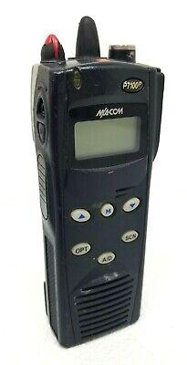 Harris Ma Com P7100ip 800 Mhz Two Way Radio Ht7170t81x W Battery Emsfire