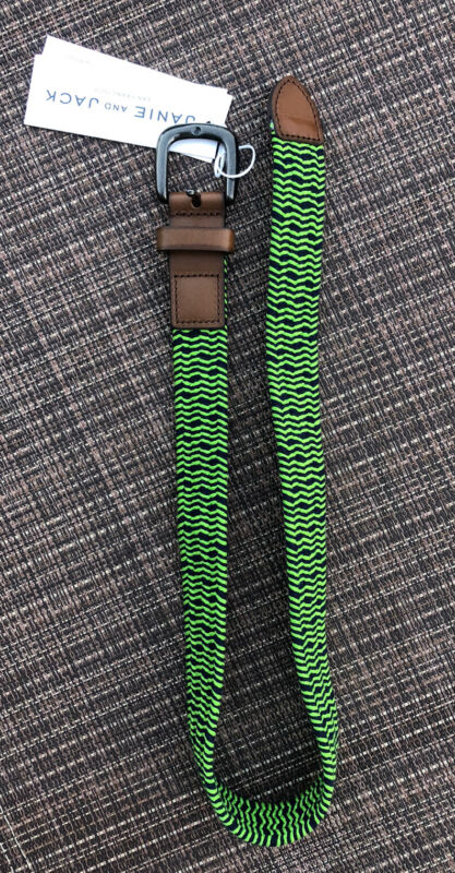 Janie and Jack Boys Kids Woven Belt Size 2T-3T NEW Toddler