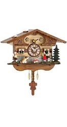 Kuckulino Black Forest Clock with quartz movement and cuckoo ch.. TU 2044 PQ NEW