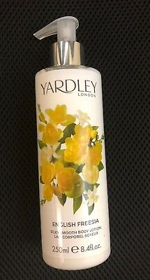 ENGLISH FREESIA BY YARDLEY OF LONDON  SILKY SMOOTH BODY LOTION 8.4oz FOR WOMEN