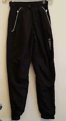 Craft X-Country AXC Touring Winter Active Ski Snow Pants  Black Womans Size XS