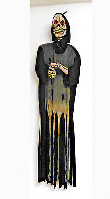 Rattle Grim Reaper 6 Ft Halloween Decor Haunted Motorized 72