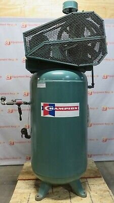 Champion Advantage Vr5-8 Vertical Air Compressor 5hp 3ph 208-230450v 80 Gallon