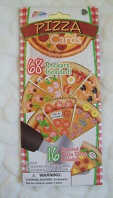 pizza party invitations pizza scented card invites with stickers 32 count