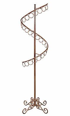 Boutique Cobblestone Spiral Scarf Rack 72h X 17w
