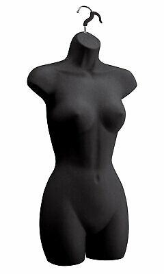 Female Molded Black Shapely Form With Hook - Fits Womens Sizes 5-10