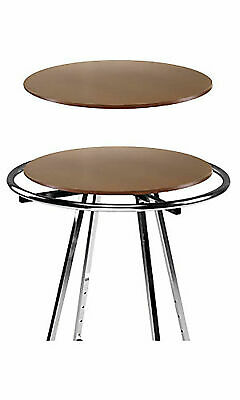 Rack Topper Wood Round Clothing 30 Diameter Cherry For 36 Rack Melamine