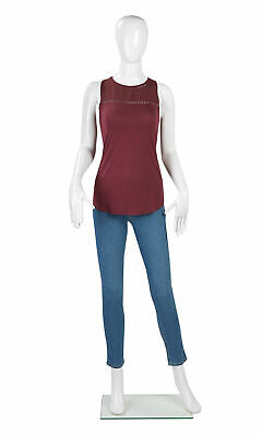 White Female Mannequin 34 Bust 26 Waist 34 Hips 58 Tall Full Body Glossy