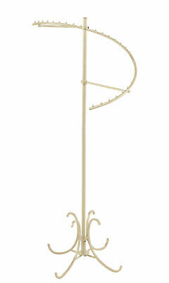 Spiral Clothes Rack - Boutique Ivory 29-ball