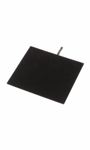 "Lot of (11)  New Black Velvet Jewelry Display Half Tray Inserts 6 3/4"" x  7 5/8"""