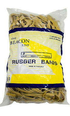 Rubber Bands 3 12 X 14 1 Pound Pack Approximately 320 Bands Size 64