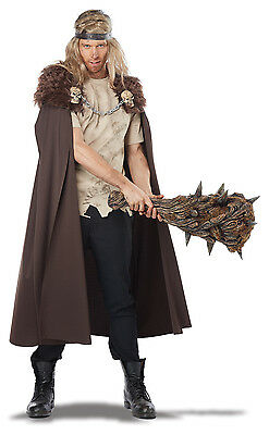 Warlord Cape Nights Watch Viking Medieval Adult Costume