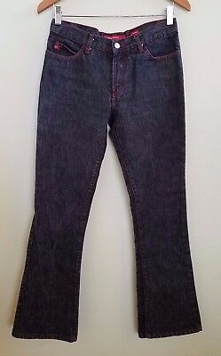 Miss Sixty Women's Size 26 Tommy Style Boot Cut Jeans Black](Sixties Women's Fashion)