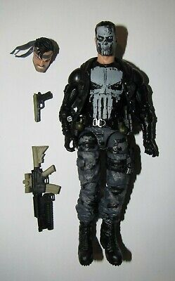 "Marvel Legends 6"" scale figure Punisher 80th Anniversary loose excellent"