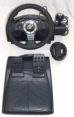 LOGITECH DRIVING FORCE PRO LENKRAD + PEDALE PlayStation 3 2 PS3 GT Gran Turismo