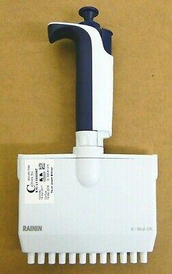 Rainin Pipet-lite L12-50xls Multichannel Pipette 12 Channel 5-50 Ul Lts