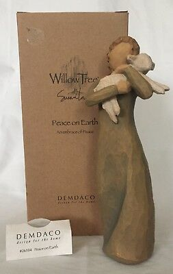 Earth Willow Tree - Willow Tree Peace On Earth Figure  #26104 Demdaco Susan Lordi Collectible