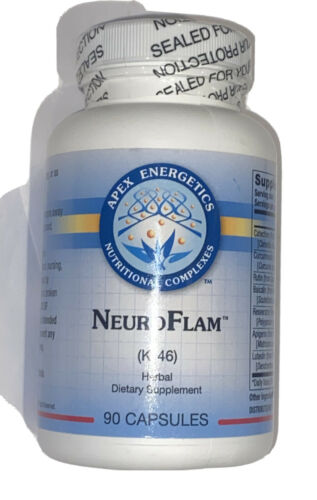 Apex Energetics NeuroFlam (K-46) Herbal Dietary Supplement - 90 Capsules