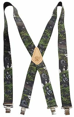 BLACK BEAR American Made Custom Suspenders 2