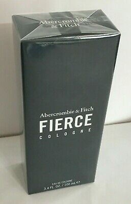 Abercrombie & Fitch FIERCE Cologne Spray 3.4 oz / 100 mL NEW Release! Sealed!