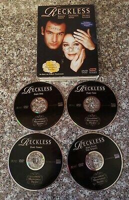 Reckless/Reckless: The Sequel (DVD, 2004) ExxonMobil Masterpiece Theater 4 Disc