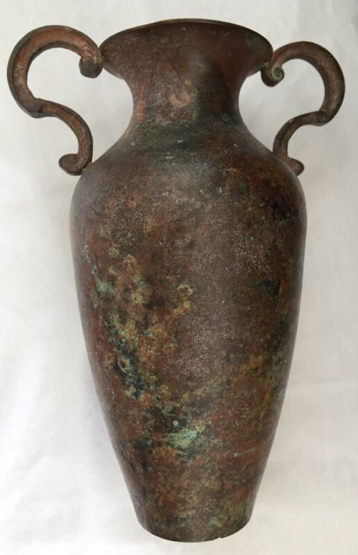 ANCIENT ANTIQUE BRONZE VASE EASTERN ROMAN EMPIRE BYZANTINE BALKAN ORIGINAL