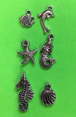 CHARMS nautical seahorse DIY fun gift idea stocking stuffer Christmas gift #A13 - Diy Christmas Gift Ideas