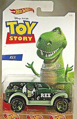 2019 Hot Wheels Toy Story Series-Rex 4/6 POWER PANEL Green w/Green ORUT5 Spokes