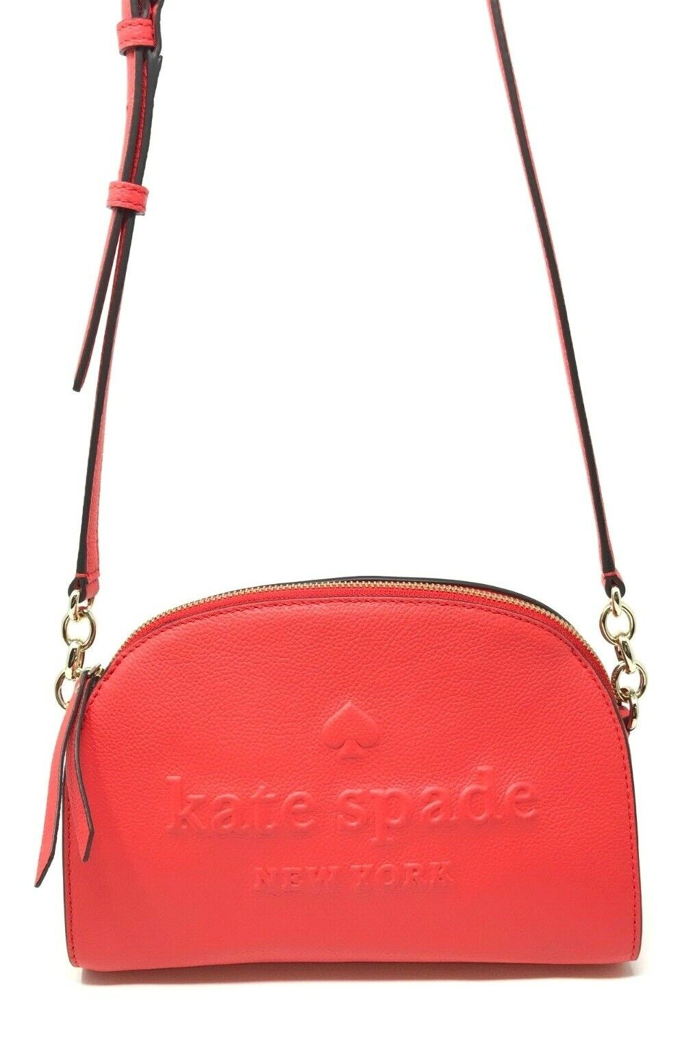 Kate Spade Larchmont Avenue Logo Tori Picnic Red Crossbody Bag