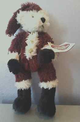 "COTTAGE COLLECTIBLES ""KRINGLE"" BEAR 12"" - 14"" 1997 WITH TAG"