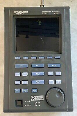 Bk Precision 2650 Handheld 3.3ghz Spectrum Analyzer