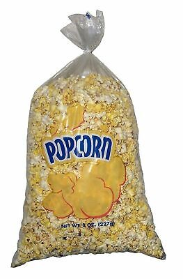 Gold Medal Plastic Popcorn Bags 8 Oz 500 Ct - Free Shipping - New 9297292