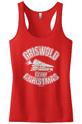 Threadrock Women's Griswold Family Christmas Racerback Tank Top Vacation Movie](Top Womens Movies)