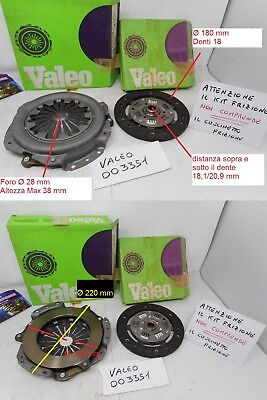 Clutch Set Compound By Disc and Mechanism Clutch Talbot Horizon 1,1 & 1,3 Ye