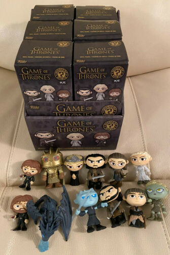GAME OF THRONES Funko Mystery Minis Series 4 12 Figures & Display Box Arya +MORE