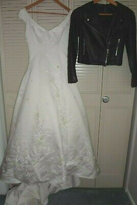 Bride Of Chucky Costume (Womens S Tiffany Bride of Chucky Costume Gown Good Guys Wedding Dress &)