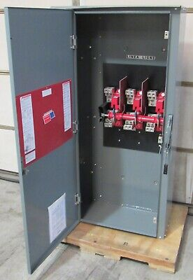 New Square D Hu368r Single Throw Safety Disconnect Switch 1200a 600v Heavy Duty
