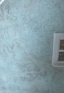 antik pastell gr n verwittert fassade tapete ideal f