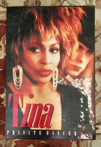 TINA TURNER  Private Dancer  rare original promotional poster