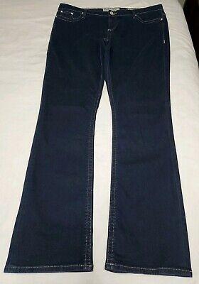Denim Extra Long Jeans - BKE Denim Womens Payton Dark Wash Jeans Stretch Size 38 XL Extra Long
