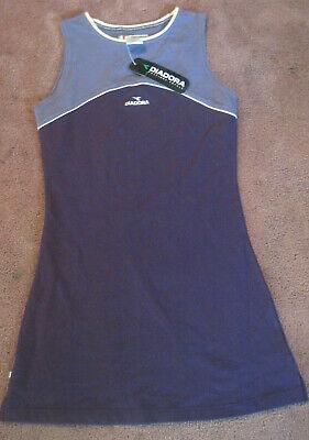 Diadora Tennis Dress Stella Tank Dress Purple/Light Purple Size Medium Diadora Tennis Apparel