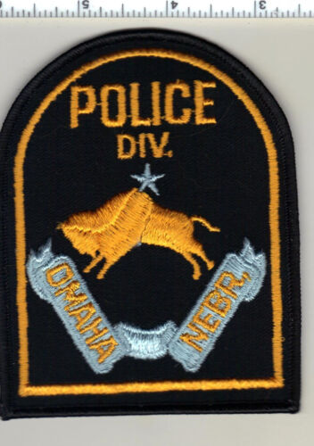 Omaha Police (Nebraska) Felt Shoulder Patch  - new from the 1970