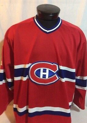 Vintage CCM Montreal Habs Canadiens #32 XL for sale  Canada