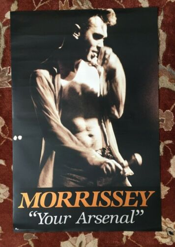 MORRISSEY  Your Arsenal  rare original promotional poster from 1992
