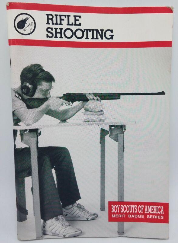 Vintage 1999 Booklet Rifle Shooting Merit Badge Series Boy Scouts of America